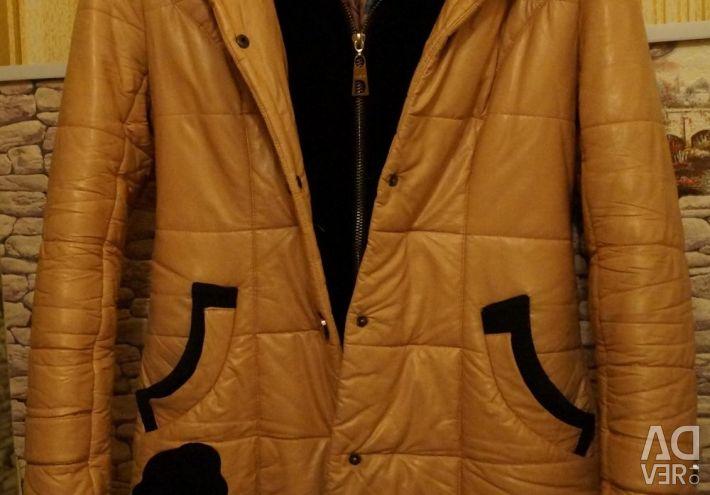 Δερμάτινο παλτό 134-140