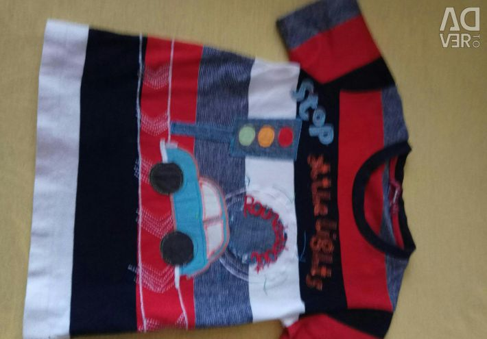 Bir erkek çocuk için tişört