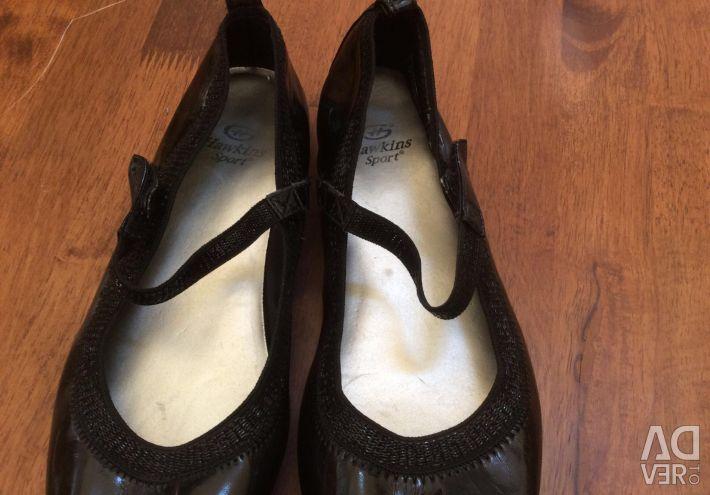 Hawkins Sport pantofi de piele brevet
