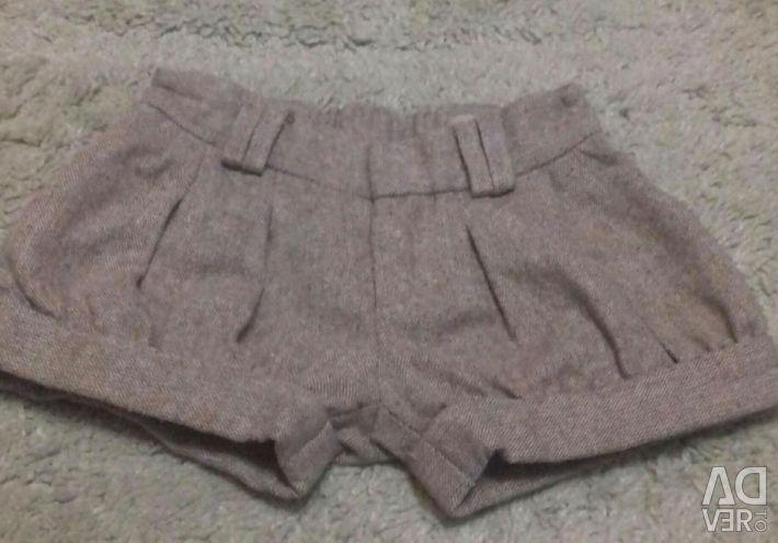 Shorts warm