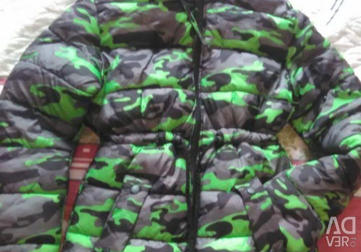 İlk sezon erkek çocuğu için uzatılmış ceket