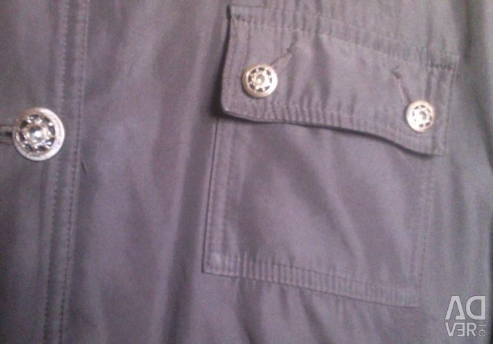A jacket on a thin synthetic winterizer