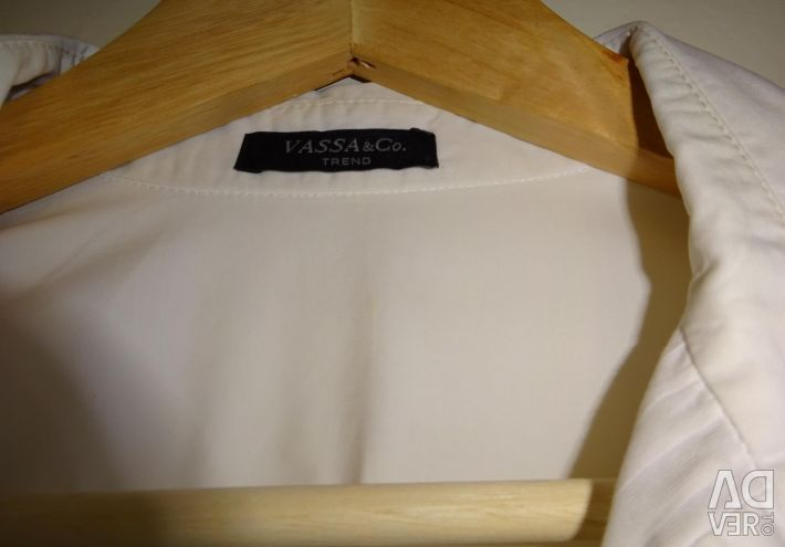 Selling a white blouse