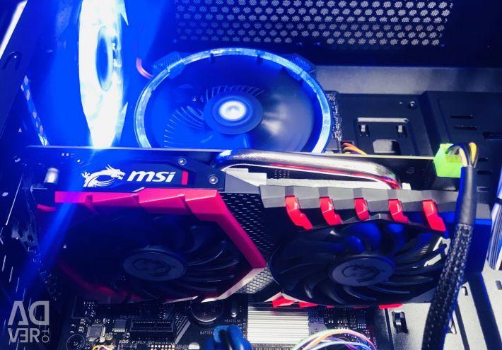 Игровой I3-8100/DDR4 8Gb/SSD 240Gb на комплекте