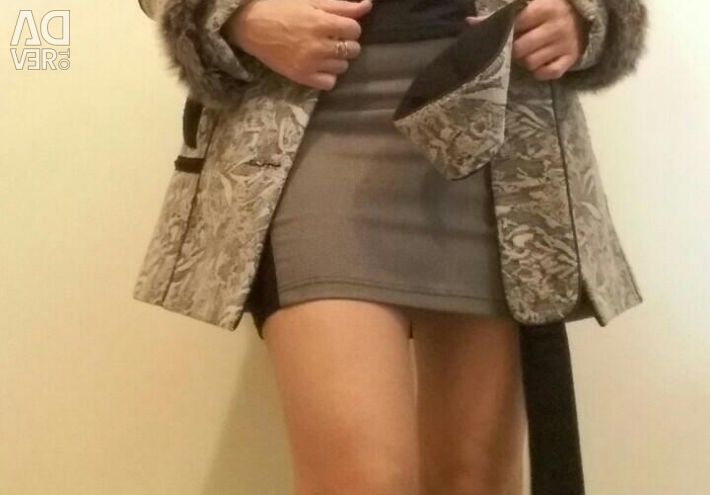 Coat. Fur vulpe.