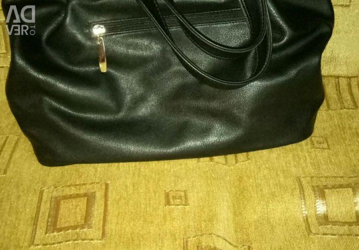 Siyah kadın çantası