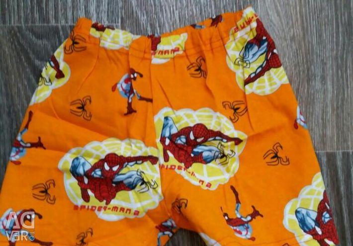 Un costum pe un băiețel (futbooka + pantaloni scurți) Ivashka
