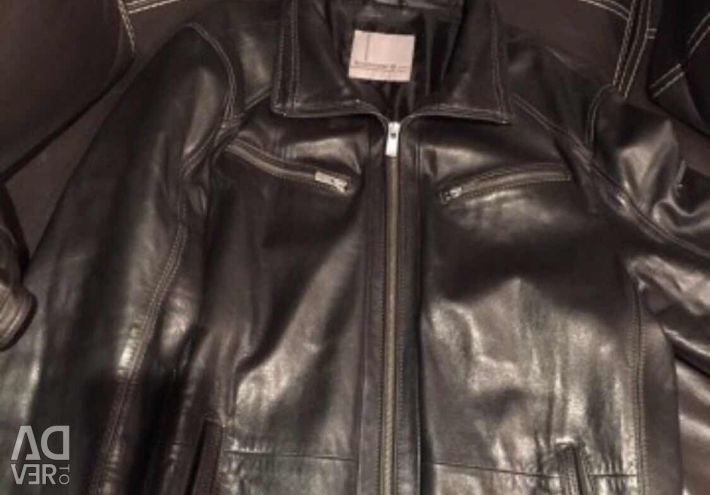 Men's leather jacket 50 times ... Italy