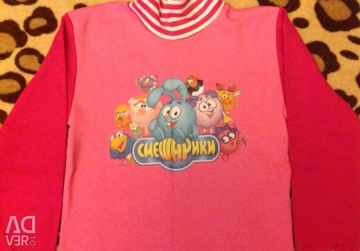 Bluza noua pentru cresterea fetei