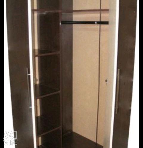 New corner cabinet M 3 oak wenge milk