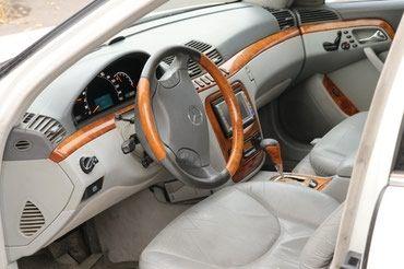 Mercedes-Benz S-Class 2001