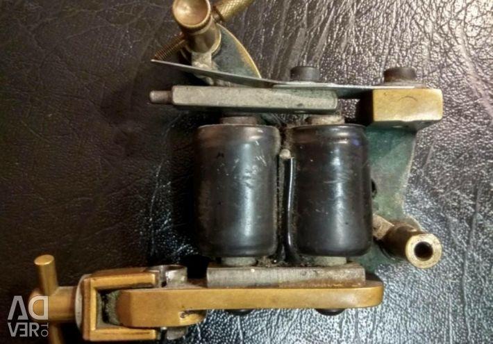 Tattoo machine Micky Sharpz bronze T dial