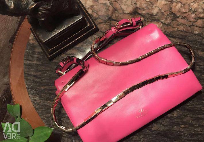 Valentino❤️ Noua geantă din piele, original, 🇮🇹