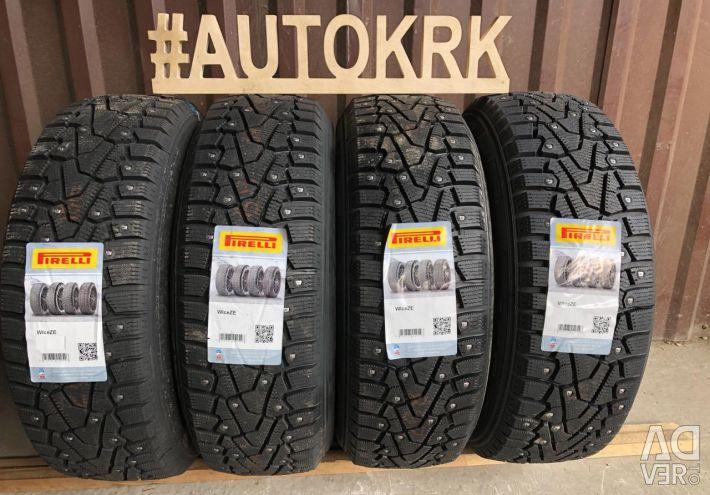 Winter tires R17 225 45 Pirelli