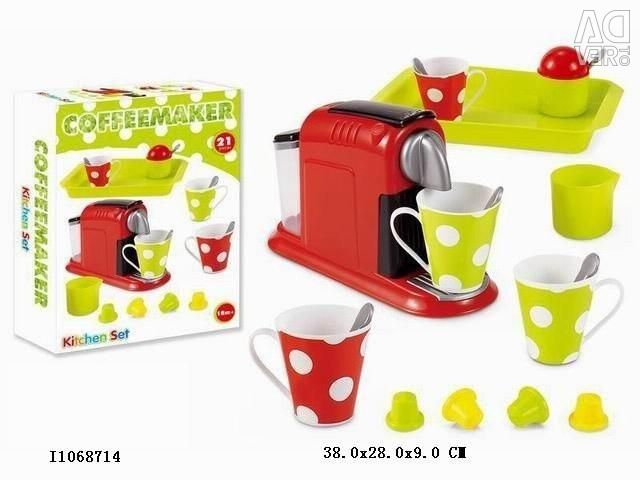 New toy coffee machine