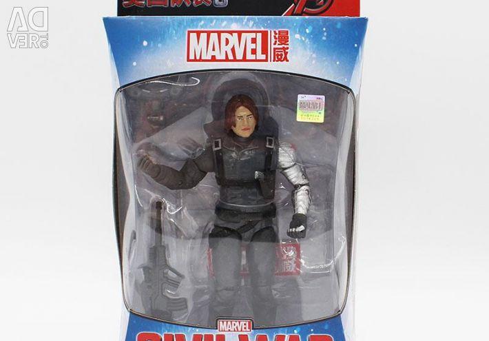 Bucky Winter Soldier 18 cm