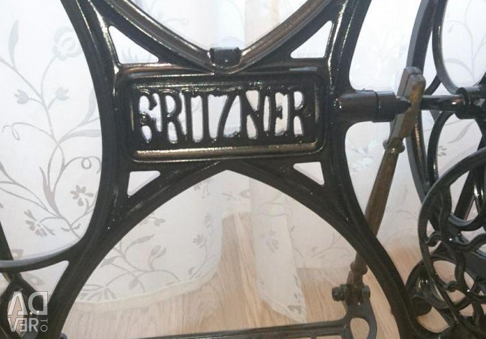 Stand Gritzner restored