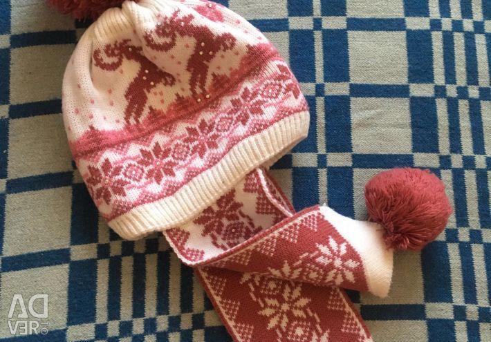 Winter hat, new