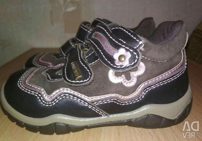 New leather demi-season shoes_24 р.
