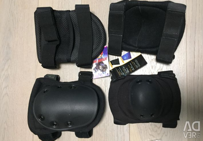 Protection knee pads, elbow pieces