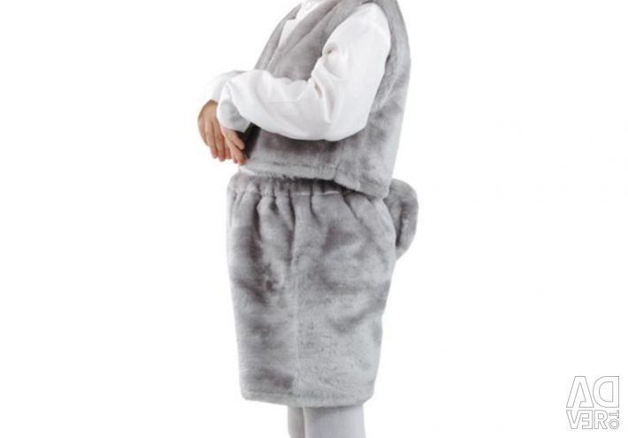 Takım kirpi takım elbise tavşan takım elbise kardan adam