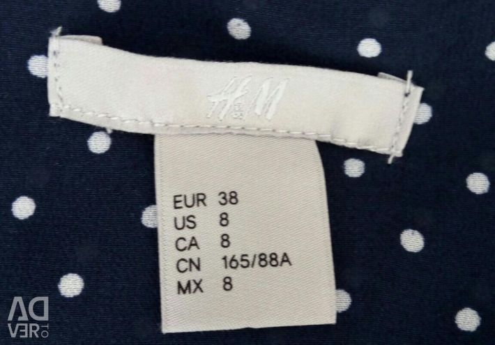 H & M blouse with new straps
