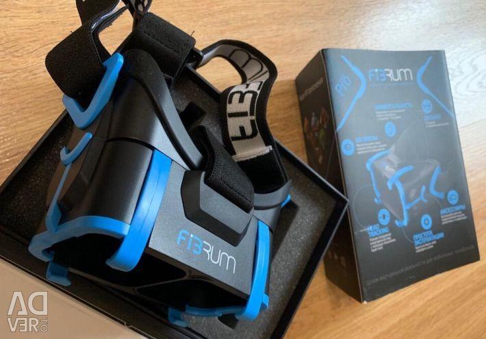 Samsung tablet + virtual reality helmet