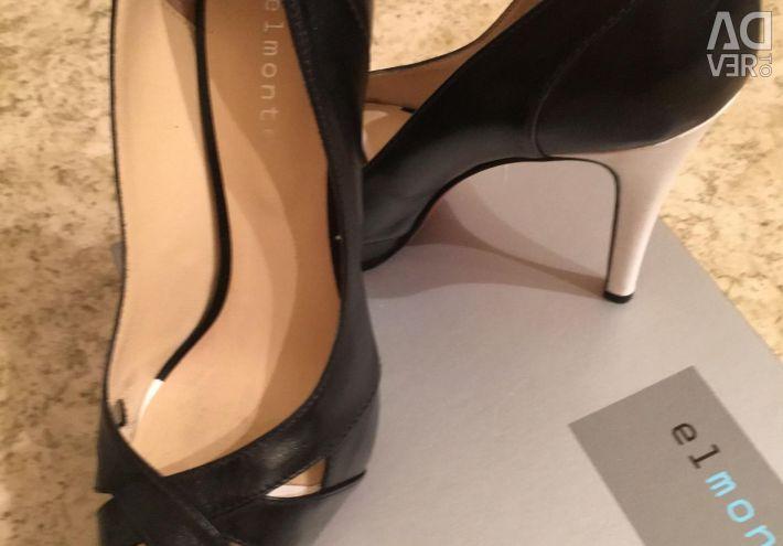 Shoes, new, p.36 (narrow leg), heel 12 cm,