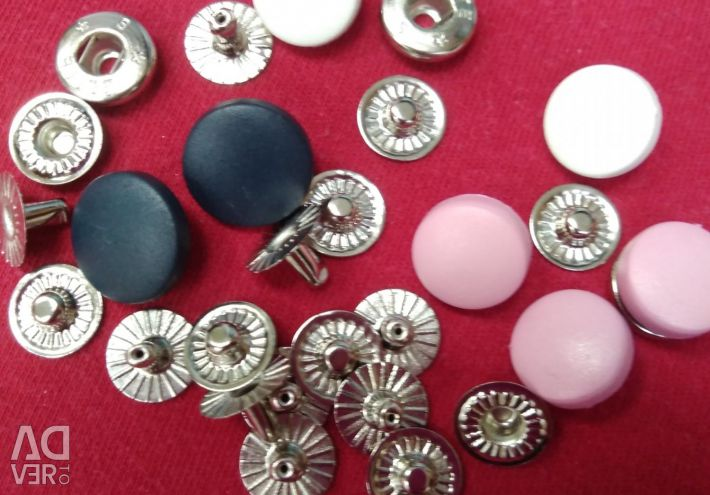 Installation of buttons, eyelets ...