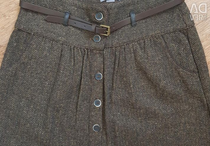 New warm skirt Berška, 42-44р