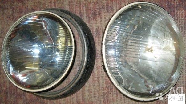 Optics headlights glass VAZ 21 Niva LuAZ ZAZ KAMAZ USSR