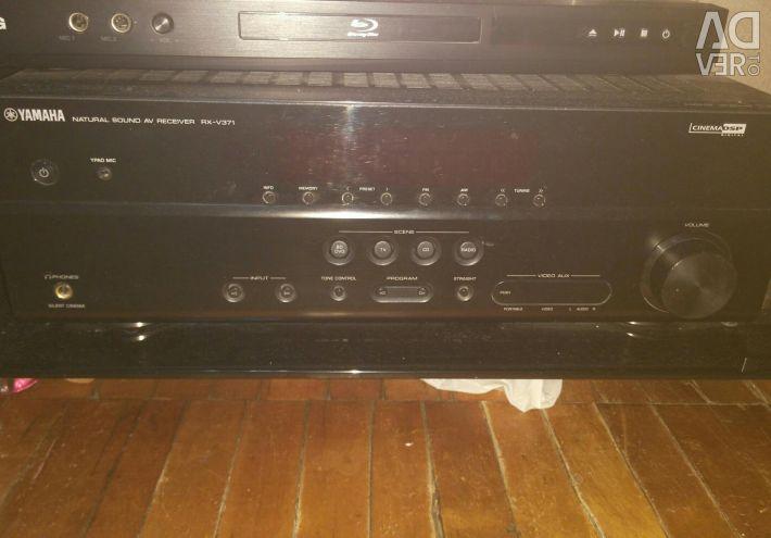 Yamaha rx-v371 receiver