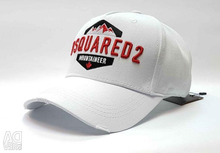 Καπέλο μπέιζμπολ ορειβάτη Dsquared (λευκό)
