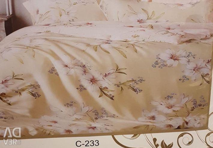Bed linen. Sateen.