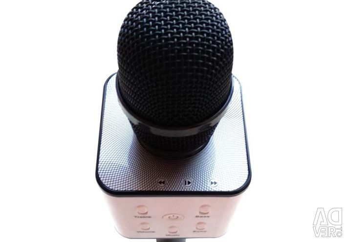 Karaoke microphone Q7U speaker black