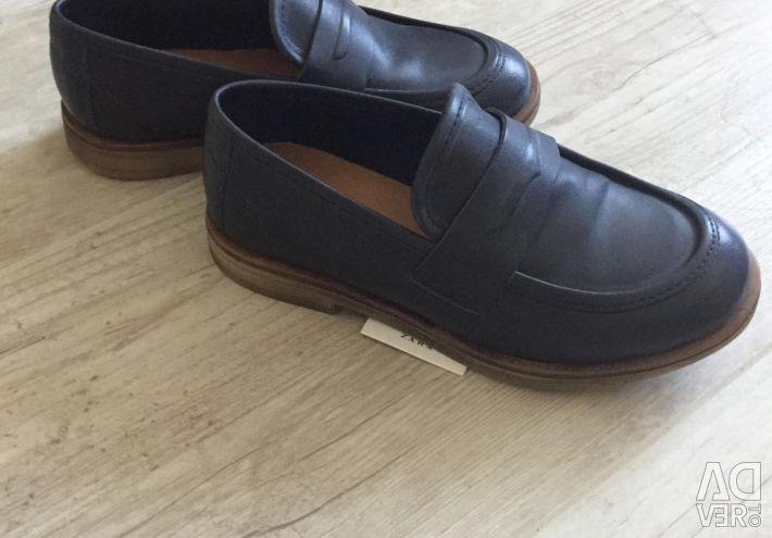 Pantofi pentru copii Zara din piele