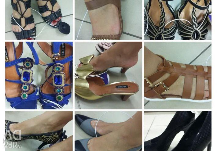 Παπούτσια 36. Γνήσιο δέρμα / σουέτ