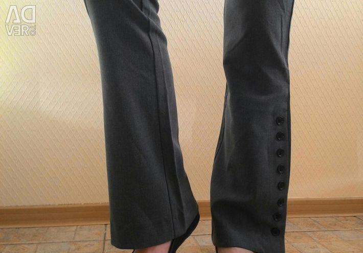 Gri yeni pantolon!