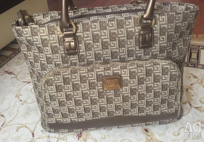 Κομψή τσάντα ταξίδια Αγγλία νέα Liz