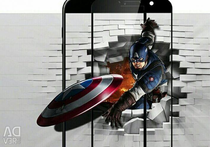 Закалeнное стекло на Samsung А-7 2016 года