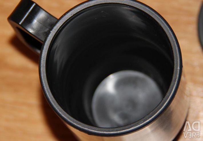 Cigarette lighter mug for drivers