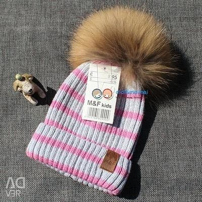 Καπάκι με φυσική γούνα