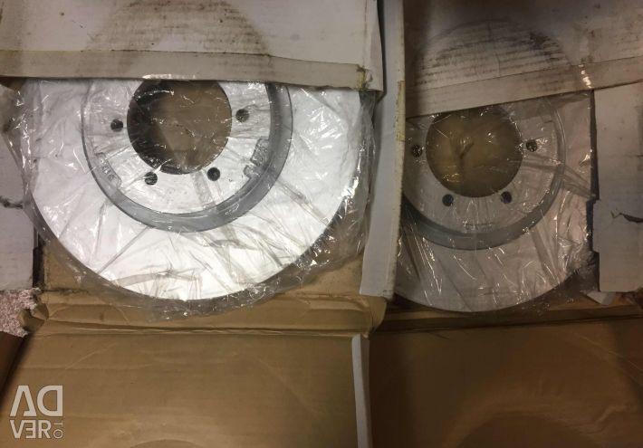 Brake discs for Hyundai Terracan