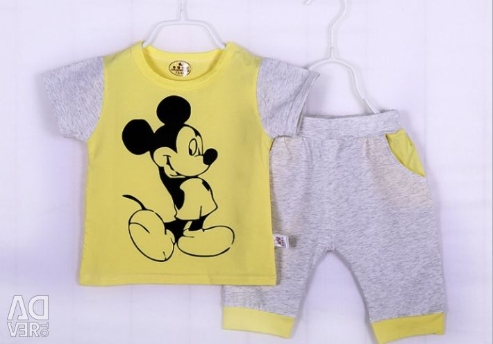 Happybaby suit with mickey