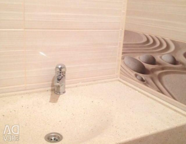 Artificial stone washbasins and sinks