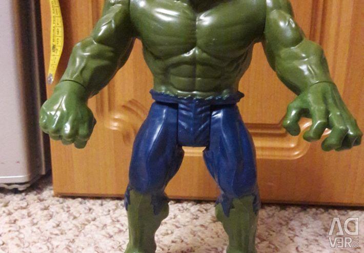 I'll give Hulk Marvel and Spiderman