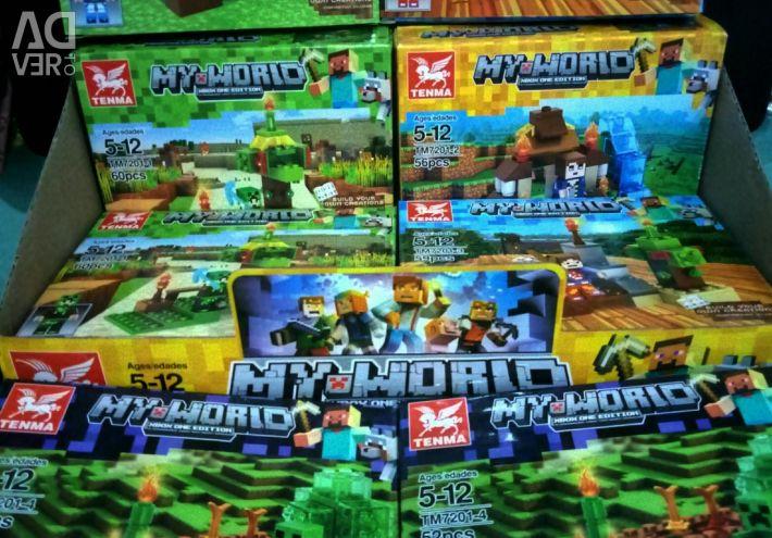 SET OF LEGO MAYNKRAFT DESIGNER