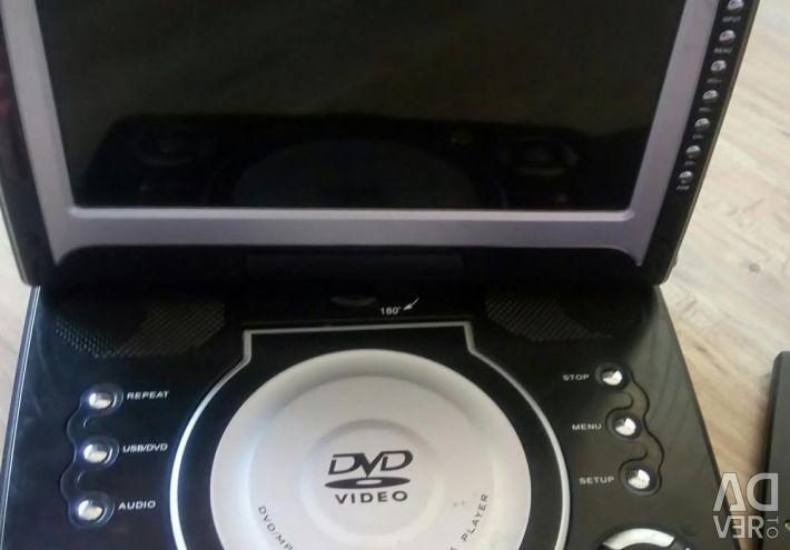 Автомобільний телевізор з DVD