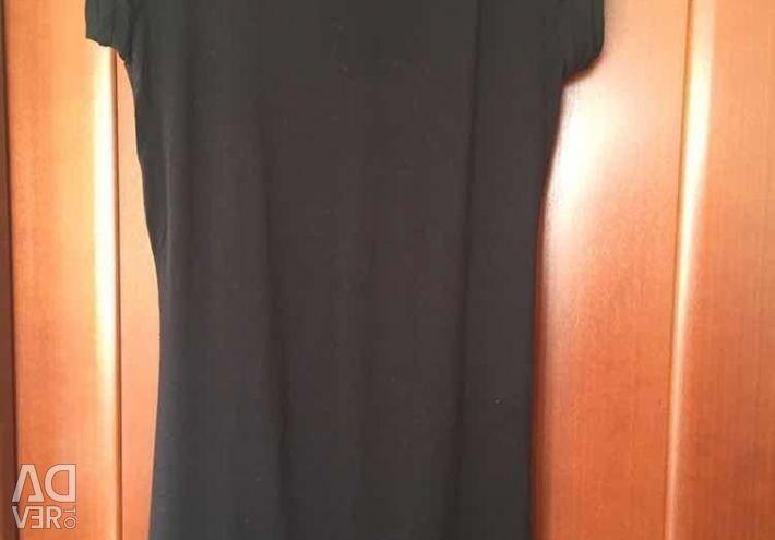 Rochie tunica Gaudi S M 42 44 46 mini desen negru