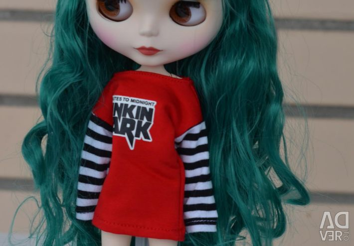 Collection doll blythe 30cm emerald matte